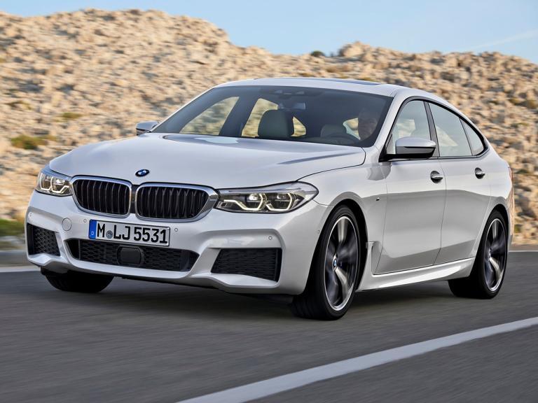 Frontal BMW Serie 6 Gran Turismo