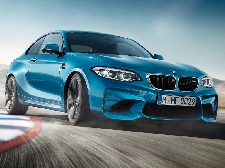 Frontal BMW M2