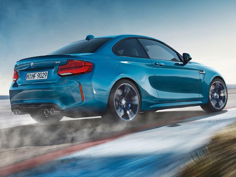 Trasera BMW M2