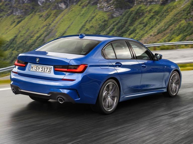 Trasera BMW Serie 3