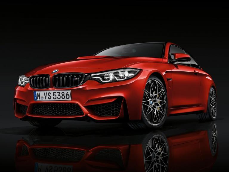 Frontal BMW M4 Coupe