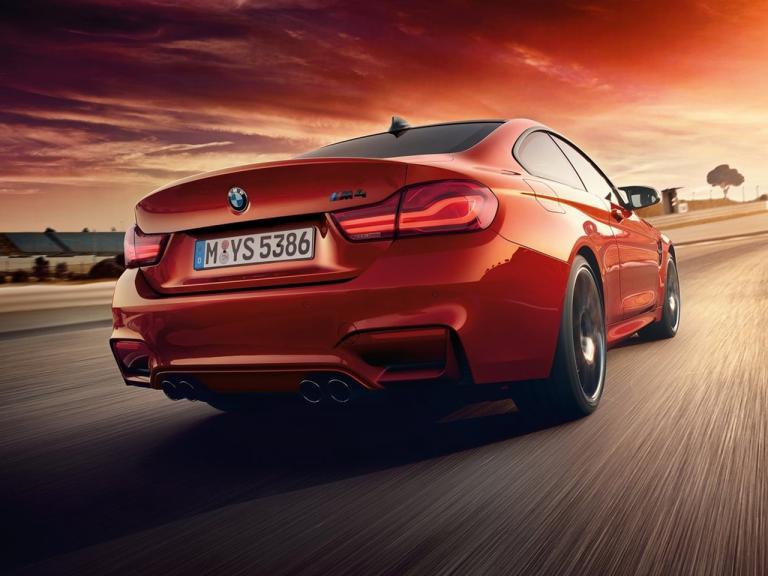 Trasera BMW M4 Coupe