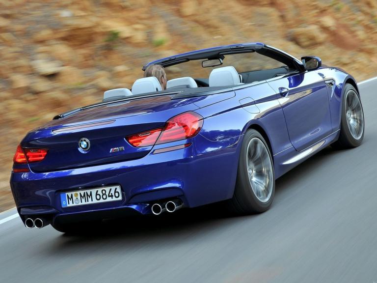 Trasera BMW M6 Cabrio