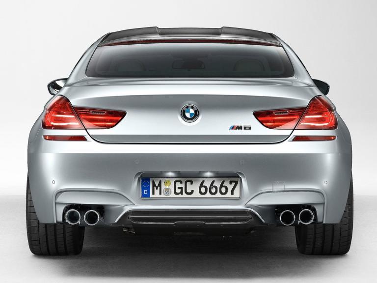 Trasera BMW M6 Gran Coupe