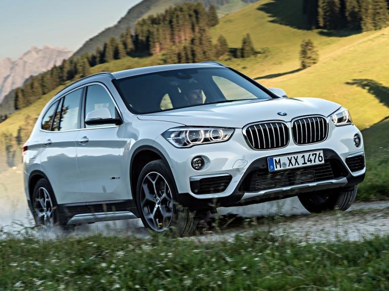 Frontal BMW X1