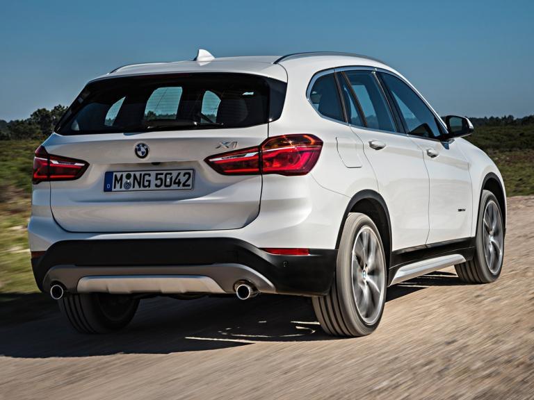 Trasera BMW X1