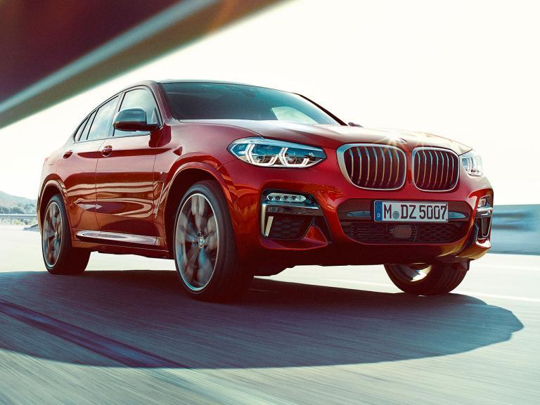 Frontal BMW X4