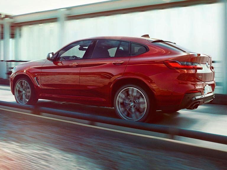 Trasera BMW X4