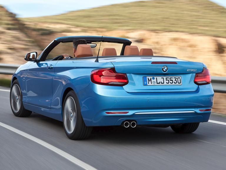Trasera BMW Serie 2 Cabrio