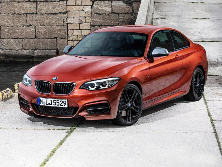 Lateral BMW Serie 2 Coupe