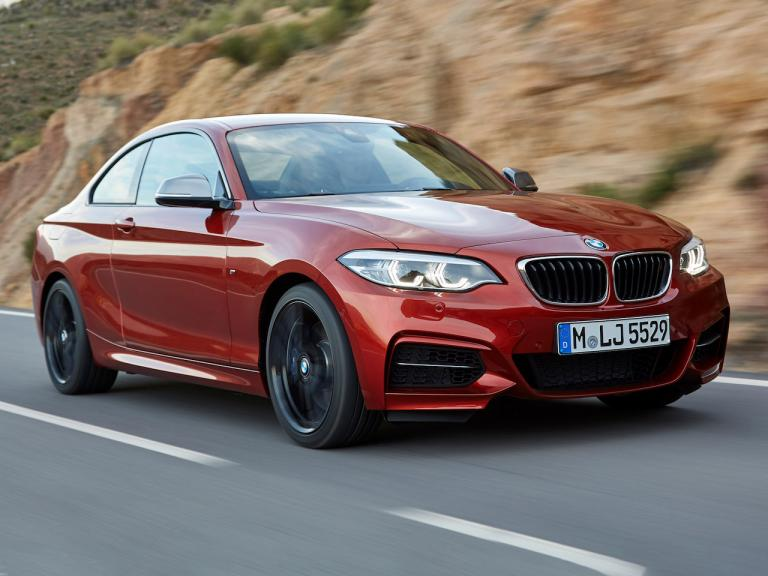Frontal BMW Serie 2 Coupe