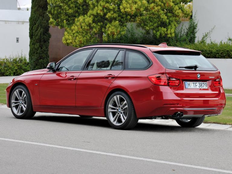 Trasera BMW Serie 3 Touring