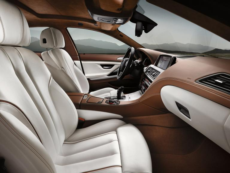 Interior BMW Serie 6 Gran Coupe