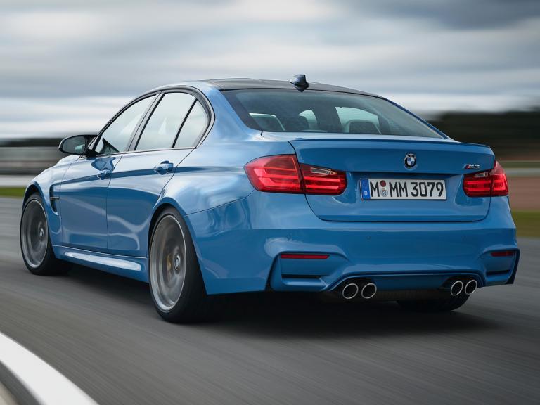 Trasera BMW M3