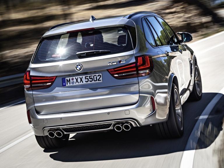 Trasera BMW X5 M