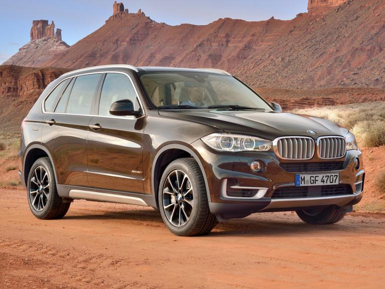 Frontal BMW X5