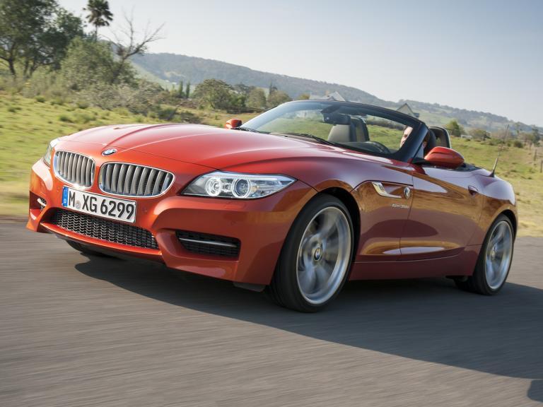 Frontal BMW Z4