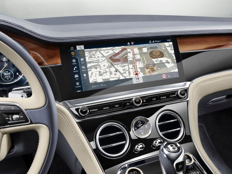 Interior Bentley Continental GT