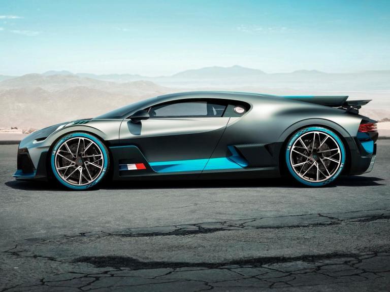 Lateral Bugatti Divo
