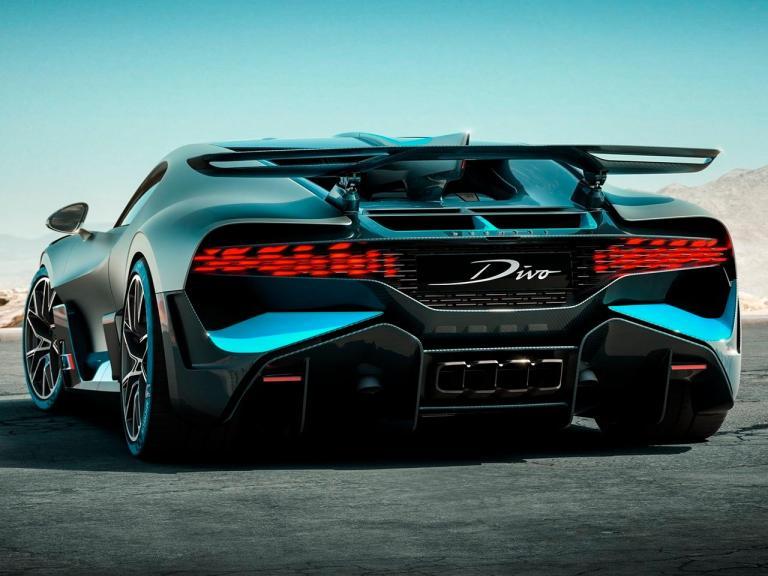 Trasera Bugatti Divo