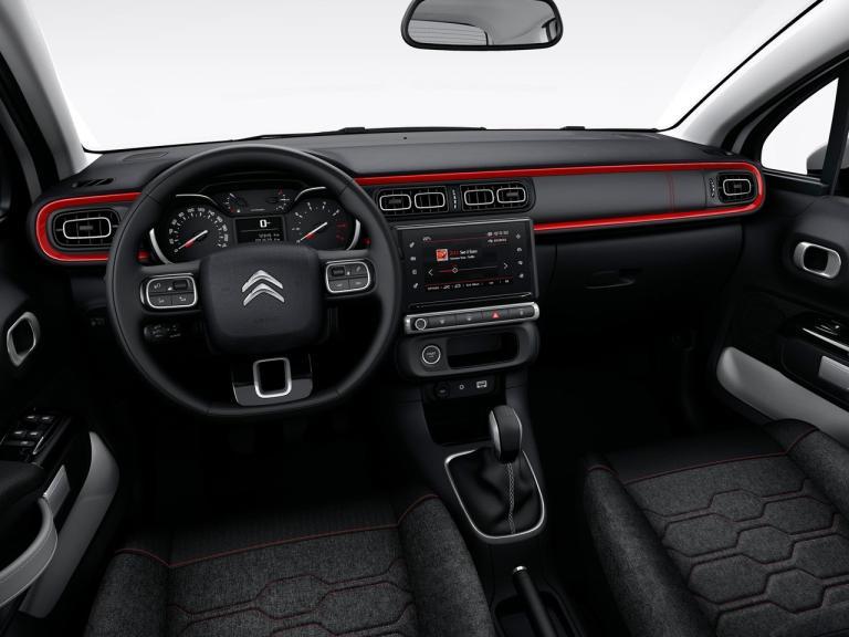 Interior Citroen C3