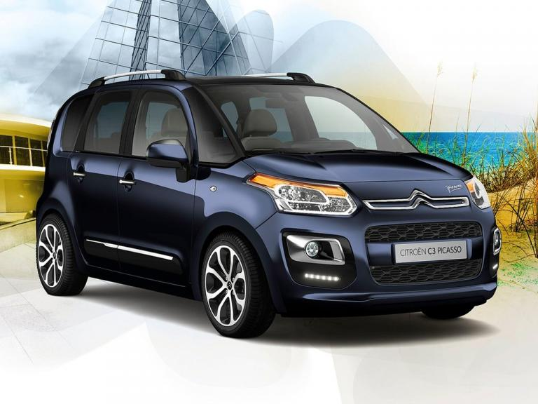 Frontal Citroen C3 Picasso