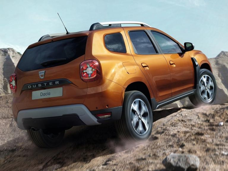 Dacia Duster 2018 con vista lateral