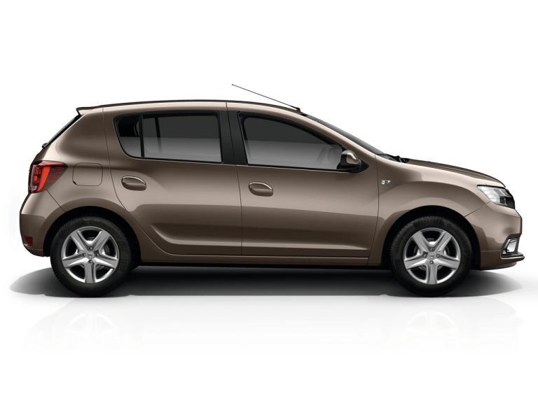 Lateral Dacia Sandero