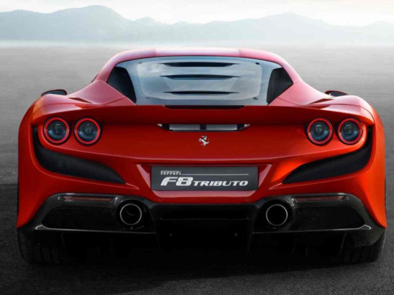 Motirazación del Ferrari F8