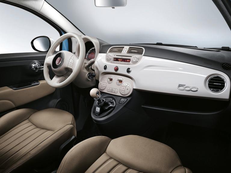 Interior Fiat 500