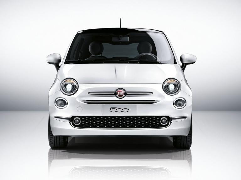 Frontal Fiat 500