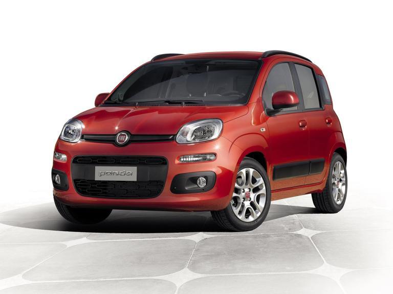 Frontal Fiat Panda