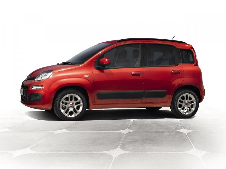 Lateral Fiat Panda