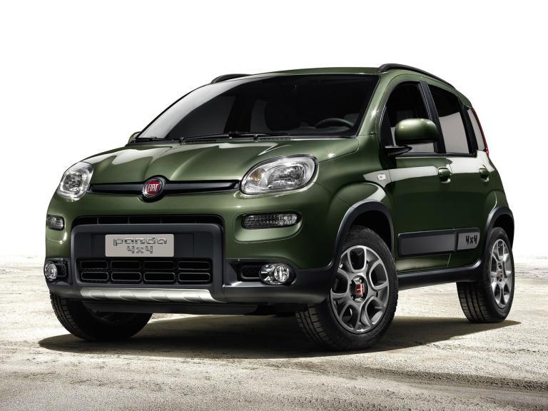 Frontal Fiat Panda 4x4
