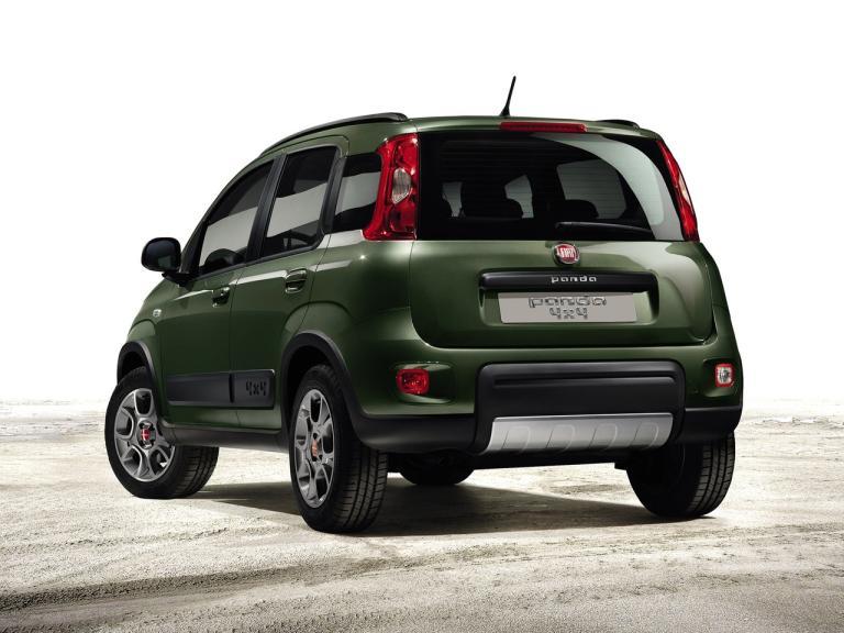 Trasera Fiat Panda 4x4