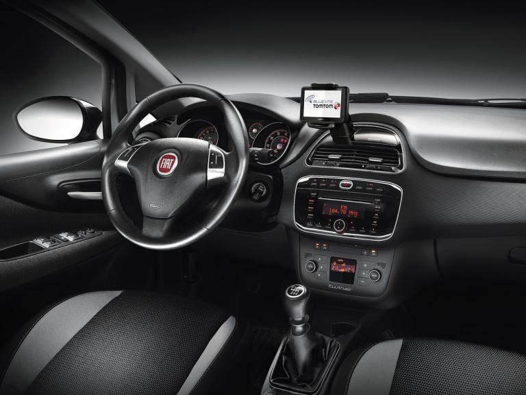 Interior Fiat Punto