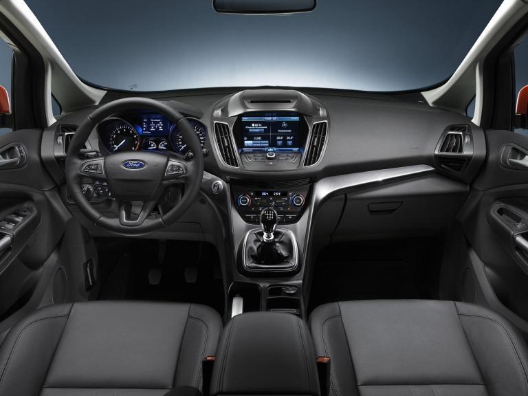 Interior del Ford C-Max