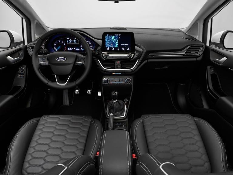 Interior Ford Fiesta Vignale
