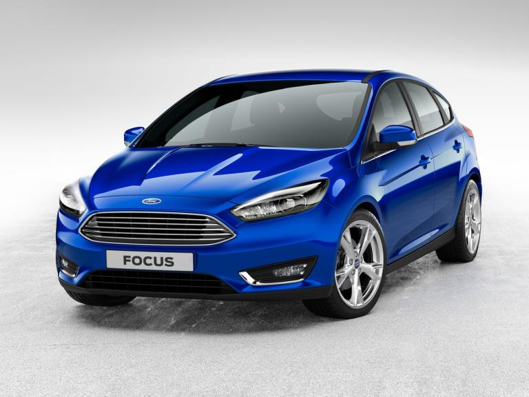 vista frontal ford focus