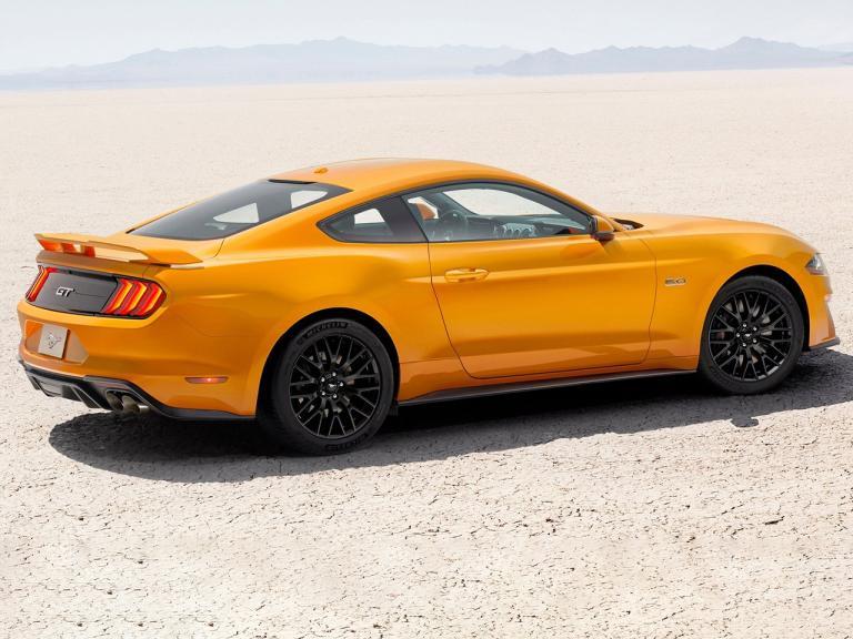 Trasera Ford Mustang