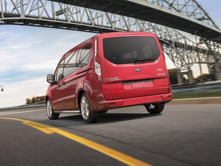 Trasera Ford Tourneo Connect