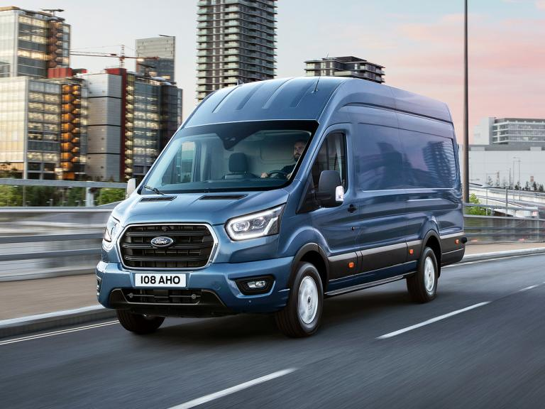 Frontal Ford Transit