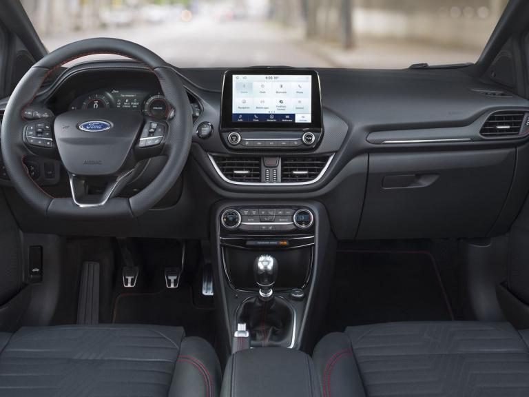 Ford Puma 2020, diseño interior