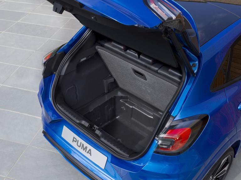 Maletero del Ford Puma 2020