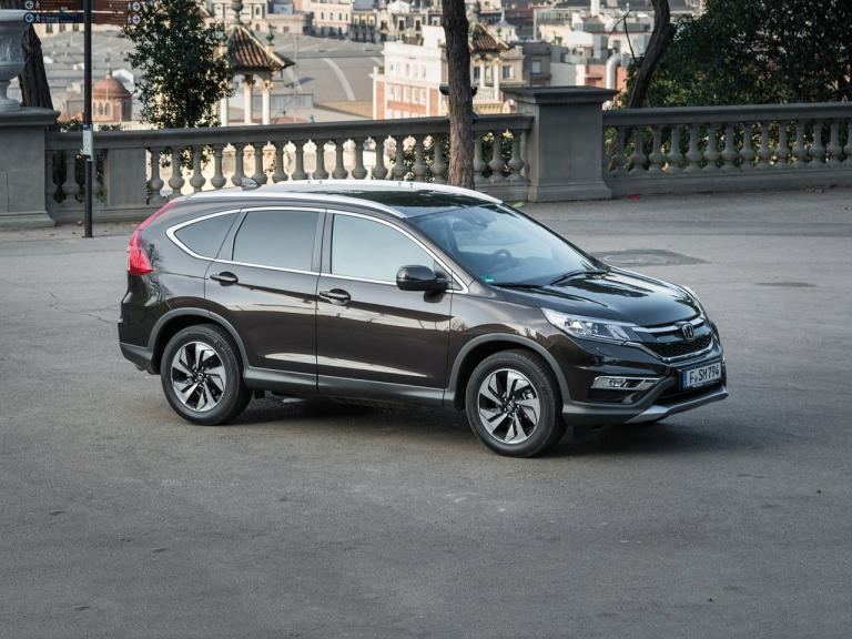 Lateral Honda CR-V