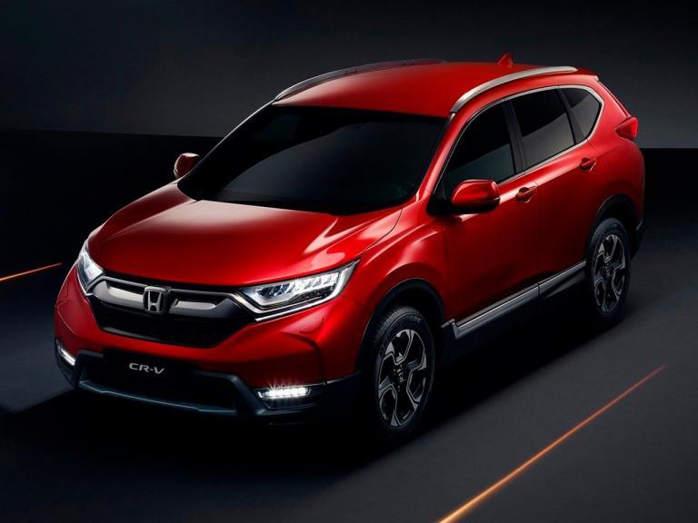 Lateral Honda CR-V