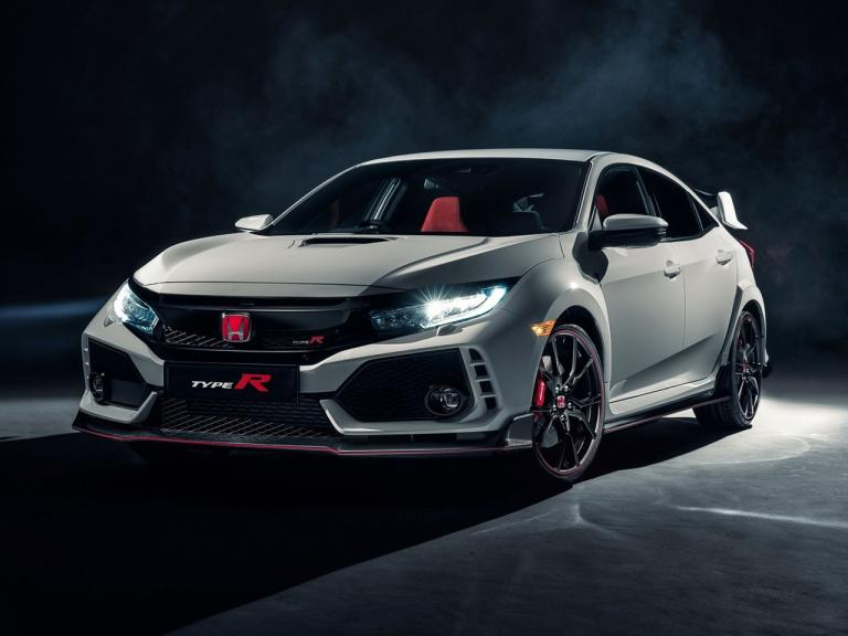 Frontal Honda Civic Type R