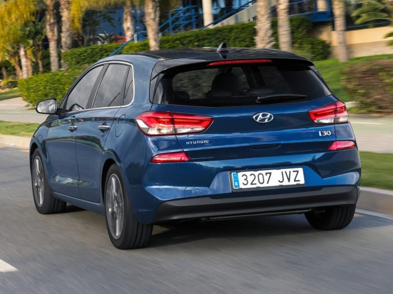 Trasera Hyundai i30