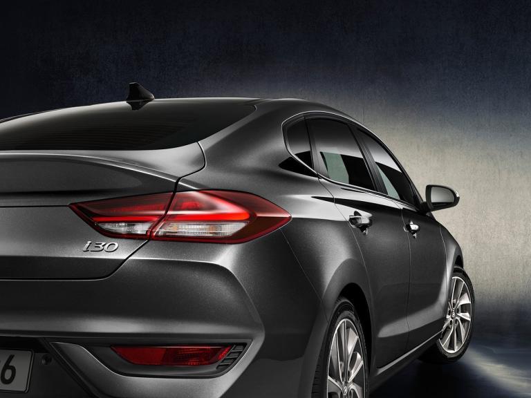 Detalle Hyundai i30 Fastback