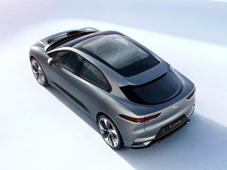 vista lateral jaguar i-pace